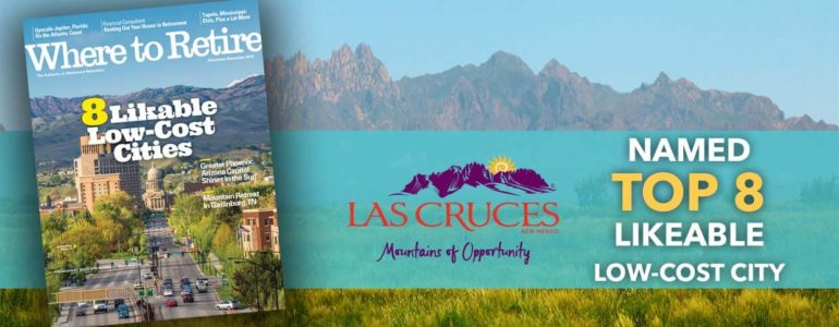 Las Cruces Named Top 8 Likable Low Cost City